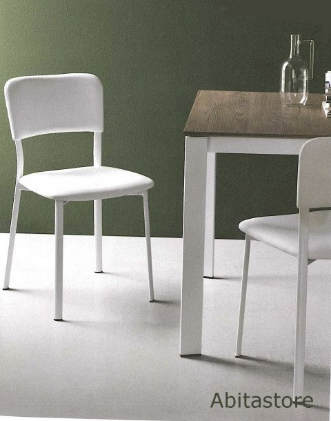 Sedia ace soft connubia calligaris for Ingressi moderni calligaris