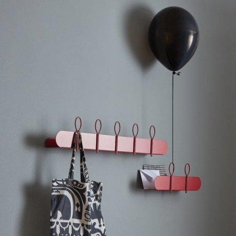 Mensola Attaccapanni.Mensola Attaccapanni Balloon Memedesign