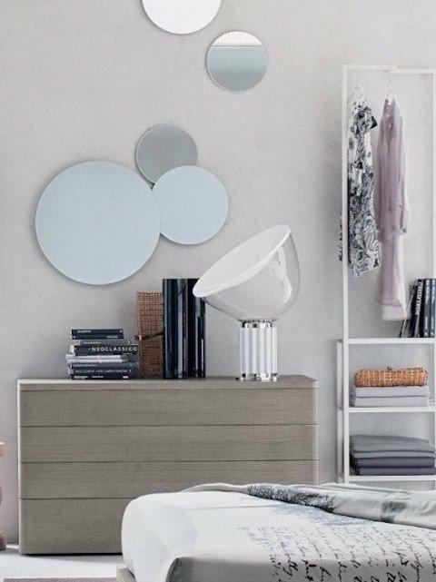 Specchi Per Arredamento.Abitastore Arredamento Online Arredo Casa Specchiera Bubbles