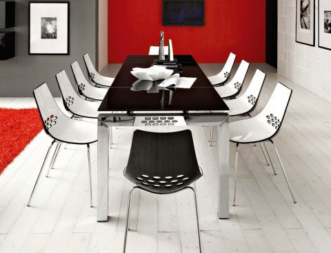 Sedia jam calligaris for Ingressi moderni calligaris