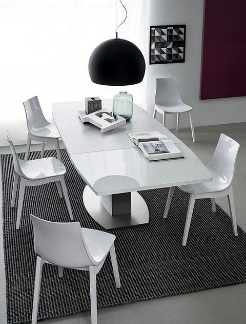 Sedia led w connubia calligaris for Ingressi moderni calligaris