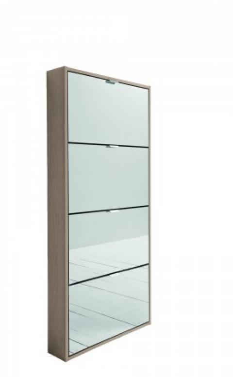 Abitastore arredamento online arredo casa scarpiera space - Scarpiera a ribalta con specchio ...